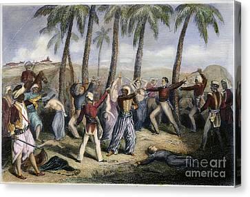 Sepoy Rebellion Canvas Print by Granger