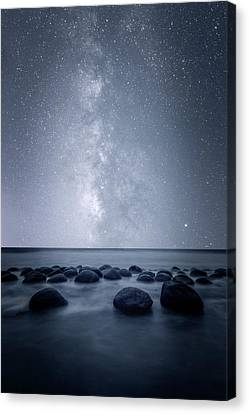 Canvas Print featuring the photograph Septarian Concretions by Dustin LeFevre