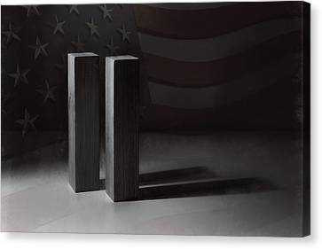September 11, 2001 -  Never Forget Canvas Print by Scott Norris