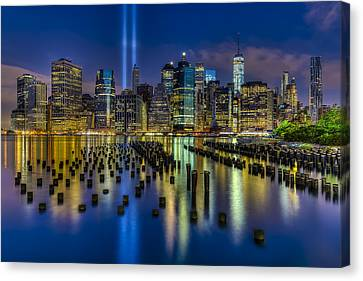 September 11 Nyc Tribute Canvas Print