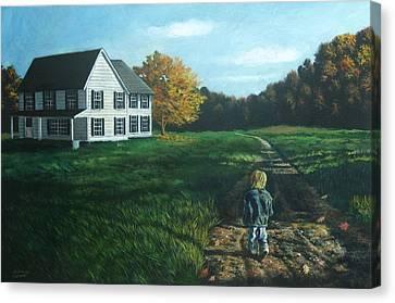September Breeze Number 4 Canvas Print