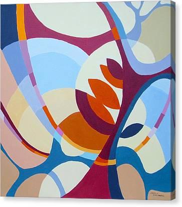 September Canvas Print by Carola Ann-Margret Forsberg