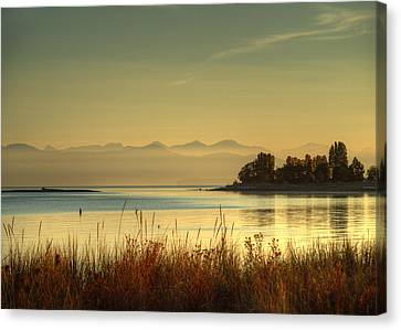 September Morn Canvas Print by Randy Hall