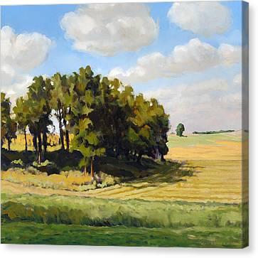 September Summer Canvas Print