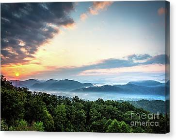 Canvas Print featuring the photograph September Sunrise by Douglas Stucky