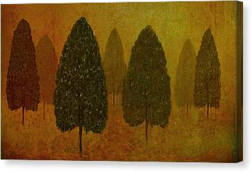 September Trees  Canvas Print by David Dehner