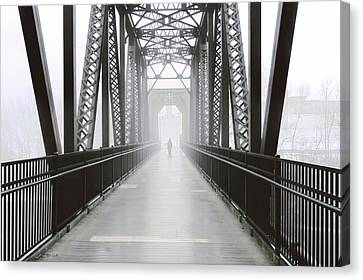 Canvas Print - Septembers Bridge by Bob Orsillo