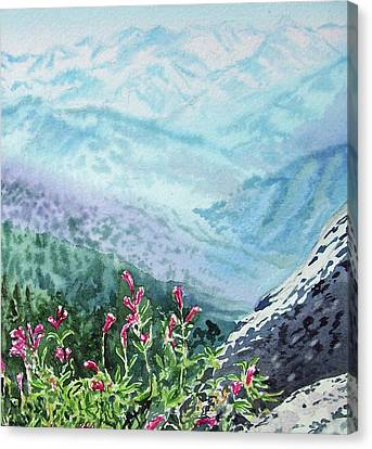 Sequoia Mountains Canvas Print