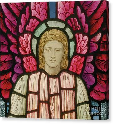 Seraphim Angel Canvas Print - Seraphim Angel Detail, 1897 by Henry Holiday