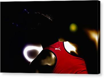 Serena Williams Doing It Canvas Print by Brian Reaves
