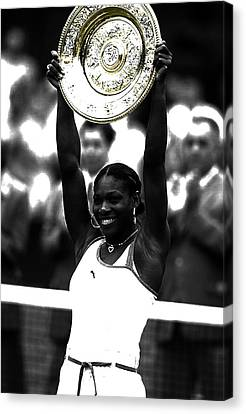 Grand Slam Canvas Print - Serena Williams Got Another Title by Brian Reaves