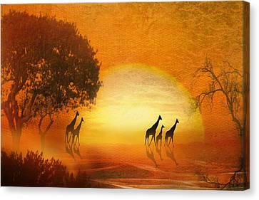 Serenade Of The Serengeti Canvas Print