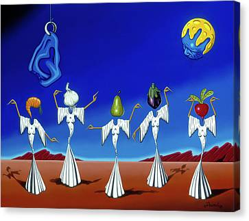 Serenade Of The Sisters Canvas Print