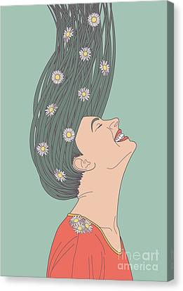 Profile Canvas Print - Serendipity by Freshinkstain