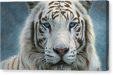 Serene Emperor Canvas Print by Lucie Bilodeau