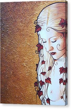 Serene Ivy Canvas Print by Yuri Leitch