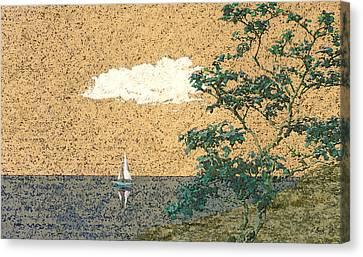 Serene Sea Canvas Print by Gordon Beck