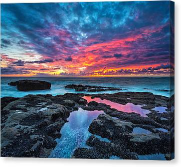 Serene Sunset 16x20 Canvas Print