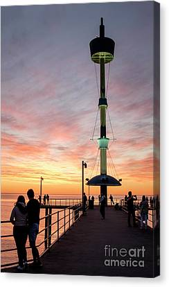Serene Sunset Canvas Print by Ray Warren