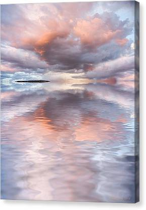 Serenity And Peace Canvas Print by Jerry McElroy