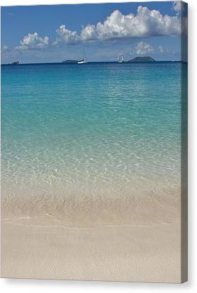 Serenity At Trunk Bay  Canvas Print