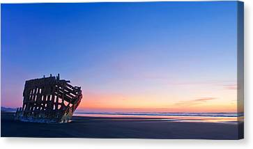 Fort Stevens State Park Canvas Print - Serenity by Dan Mihai