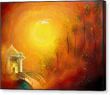Serenity Canvas Print by Michael Cleere