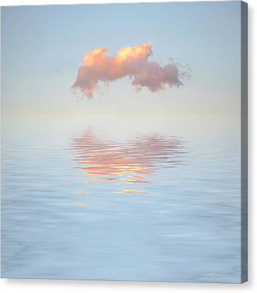 Serenity Now Canvas Print by Jerry McElroy