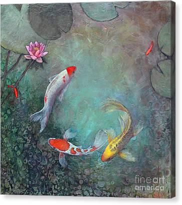 Serenity Pool Canvas Print