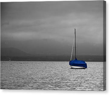 Canvas Print featuring the photograph Serenity by Ron Dubin