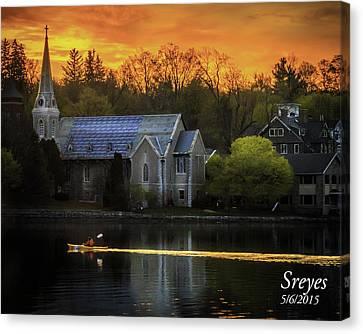 Skaneateles Lake Canvas Print - Serenity by Scott Reyes
