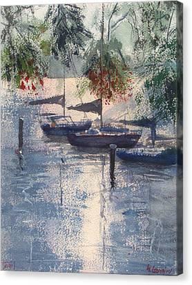 Serenity Canvas Print by Sof Georgiou