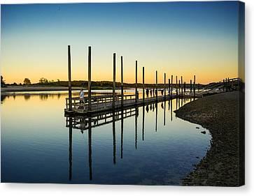 Serenity Sunset Kings Park New York Canvas Print