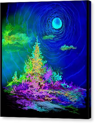 Serenity Canvas Print by William Vanya