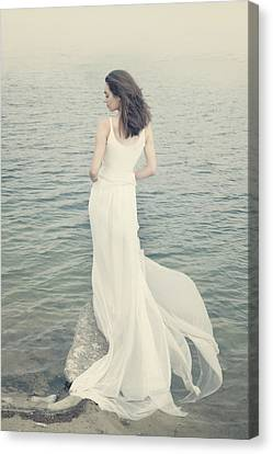 Rear View Canvas Print - Serenity by Cambion Art