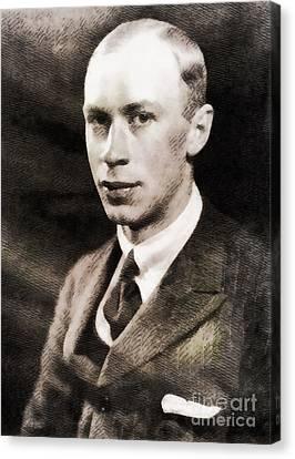 Sergei Prokofiev, Composer By John Springfield Canvas Print by John Springfield