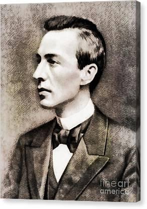 Sergei Rachmaninoff, Composer By John Springfield Canvas Print by John Springfield