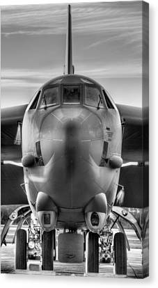 Serious Business Black And White Canvas Print by JC Findley