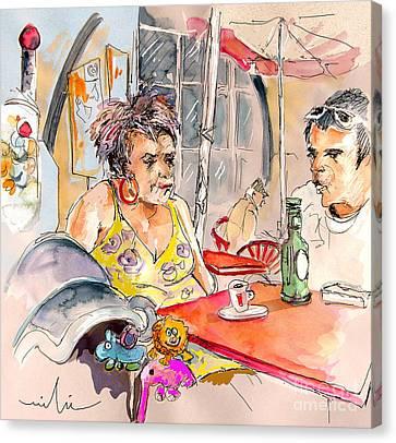 Serpa  Portugal 34 Canvas Print by Miki De Goodaboom