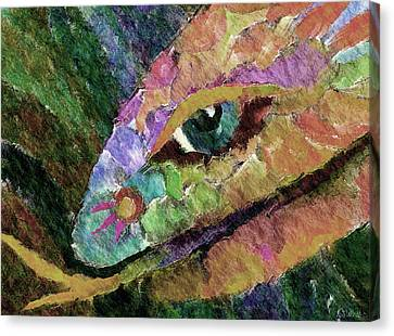 Serpens Canvas Print by Linda Cornelius