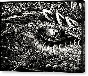 Serpentine Canvas Print by Catherine Melvin
