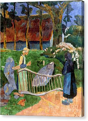 Serusier: Barriere, 1889 Canvas Print by Granger