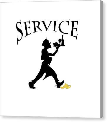 Service Canvas Print by Jam