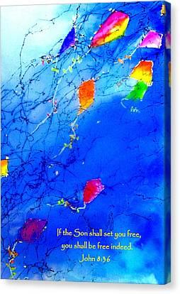 Set Free Canvas Print by Anne Duke
