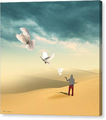 Set Me Free Again  Canvas Print by Mark Ashkenazi