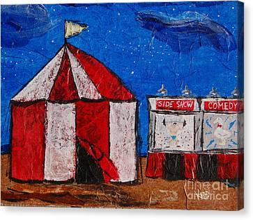 Set My Circus Down Canvas Print