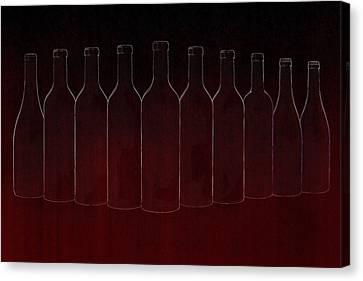 Set Of Ten Canvas Print by Art Spectrum