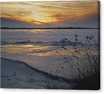 Setting Sun Canvas Print