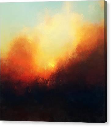 Setting Sun Canvas Print by Lonnie Christopher