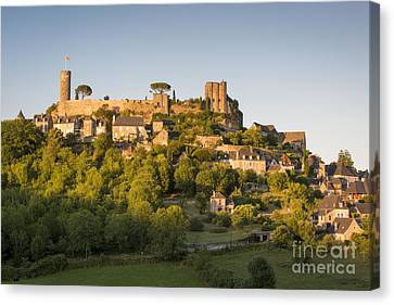 Setting Sunlight Over Turenne Canvas Print by Brian Jannsen